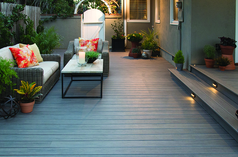 Composite Decking in Fall