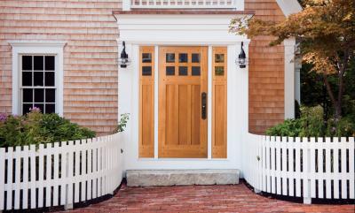 Fiberglass or Wooden Door