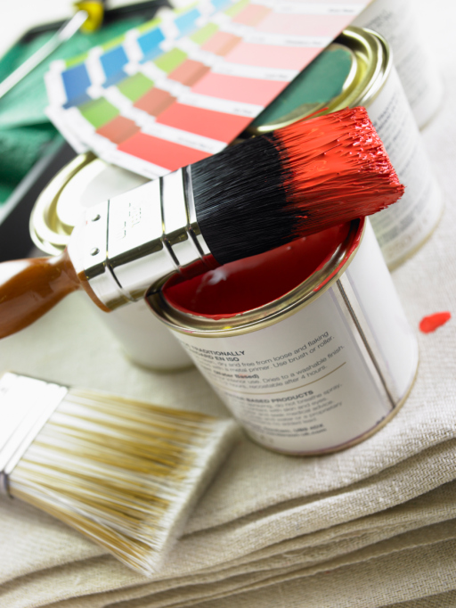 the right paint brush