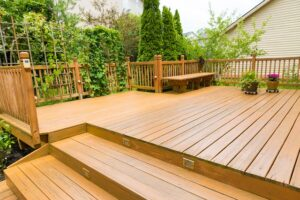 staining your deck Fisher Lumber